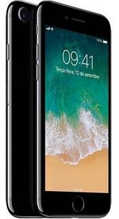 iPhone 7 Preto Brilhante Mem Int. 256 Gig (semi-novo) Com Nf