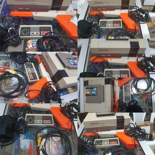Nintendo Americano Consola Control Cables Juego Zarper