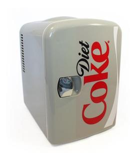 Mini Enfriador Minibar Frigobar 4 L Coca Cola Light Kwcdt