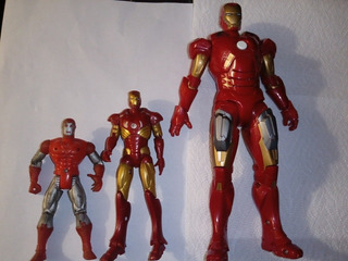 Lote Muñecos Articulados Iron Man Colección Se Vende Lote