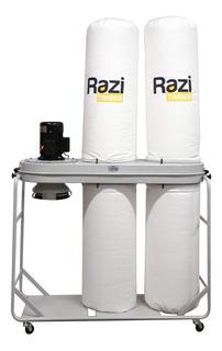 Coletor De Pó C/ 3 Bocas 2 Res. 3cv Trifásico Razi - Rzcpe3