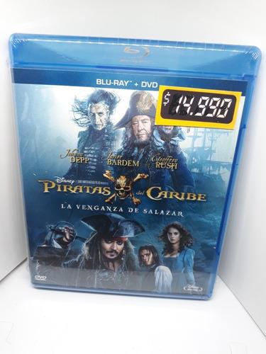 Piratas Del Caribe La Venganza De Salazar Pelicula Bluray