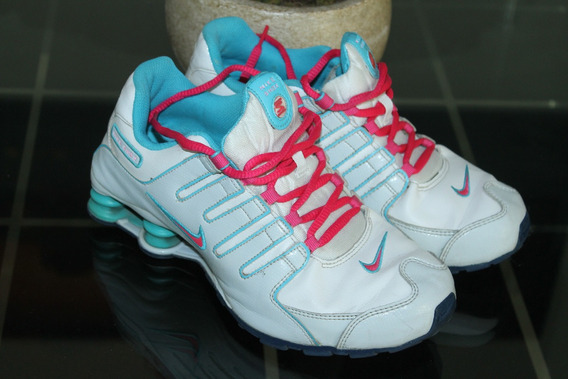 Nike Shox Para Dama #25 O 5 Excelente Condicion