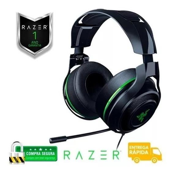Fone Gamer Profissional Razer Man O War 7.1 Green Edition - Pc One Ps4- Pronta Entrega Envio Rápido + 1 Ano De Garantia