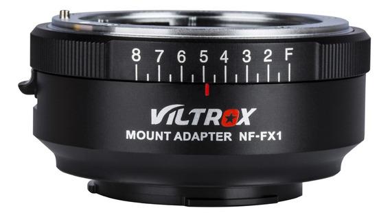 Viltrox Nf-fx1 Anel Adaptador De Lente De Câmera Para Nikon