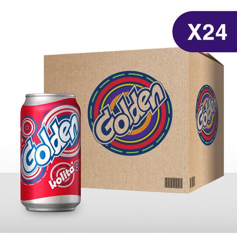 Golden Sabor A Kolita - 24 Latas De 355ml