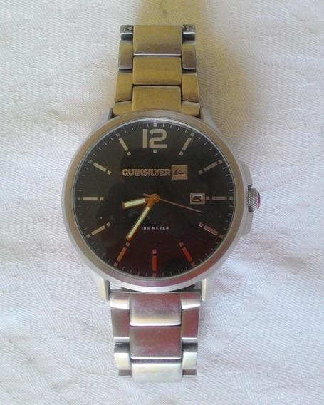 Relógio Quiksilver Beluka M154bf Silver Original