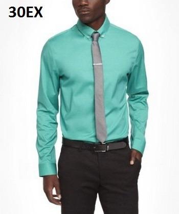 Xs, L - Camisa Express Turquesa C30ex Ropa Hombre Original