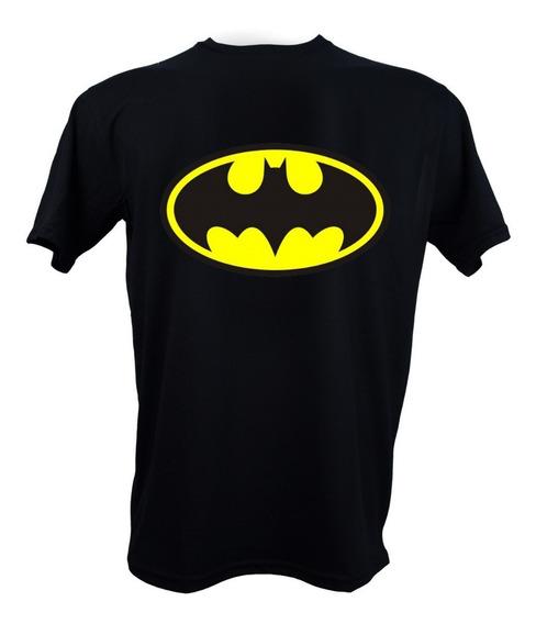 Remera, Dc, Batman Logo Clásico Original Licencia Oficial