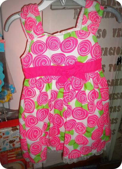 Cybermonday Vestido Fiesta Importado Usa Shabby Chic T 5