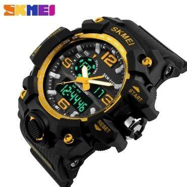 Relógio Masculino Analógico Digital Skmei Shock S Prova D