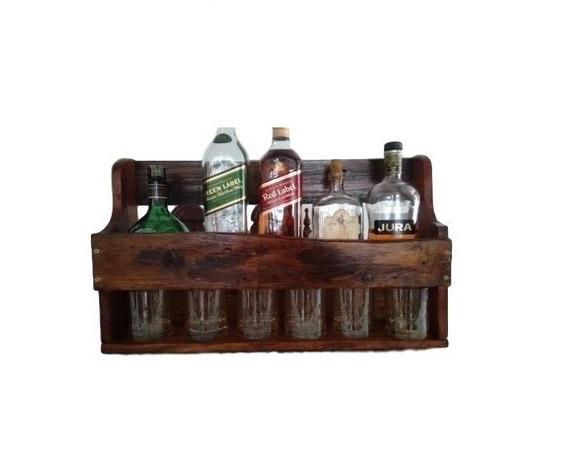 Prateleira Adega De Vinhos E Bebidas Whisky Envio Imediato