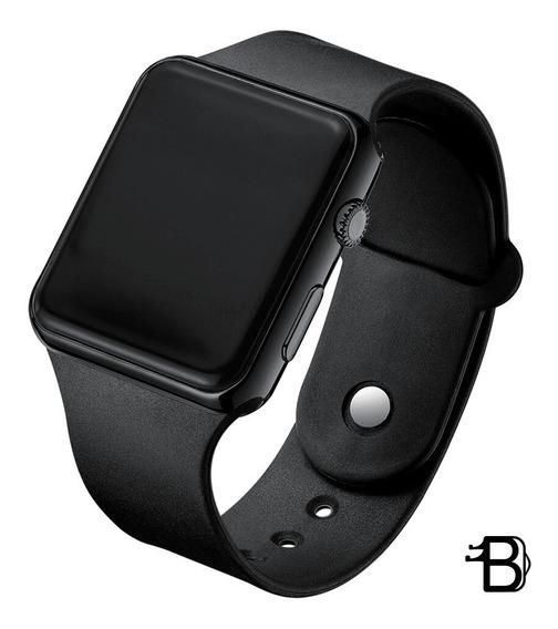Relógio Masculino/feminino Digital Preto Doobo