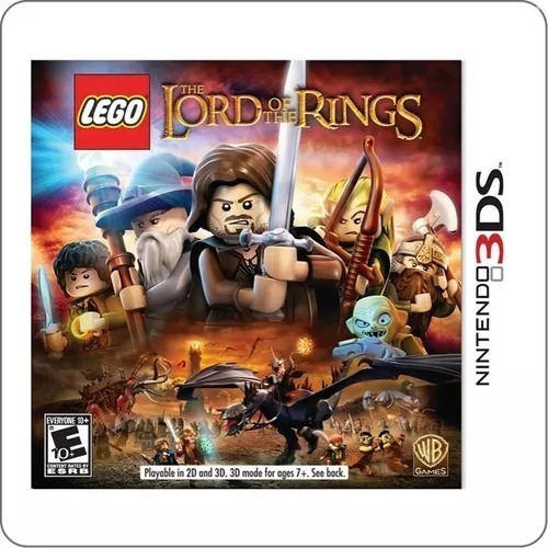 The Lord Of The Rings Nintendo 3ds Usado