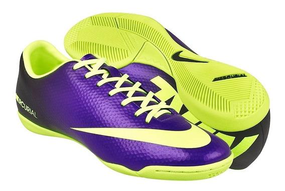 Tenis De Fútbol Para Caballero Nike 555614570 Morado