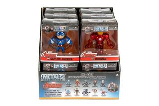 Figura Metals Marvel 7 Cm Capitan America Antman Ironman