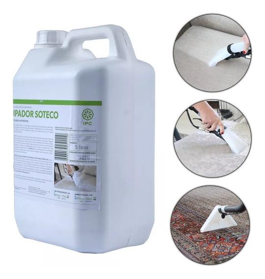 Detergente Limpador Para Extratoras 5 Litros Ipc/soteco