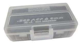 Caixa P/ 50 Munições .380/9mm/.22lr - Cores Var. - Shotgun