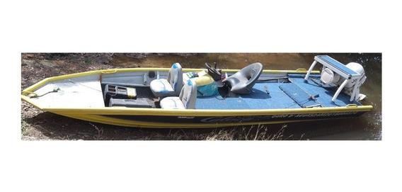 Vendo Canoa Calaça 6 Metros Motor 35hp 3 Cilindros Eletronic