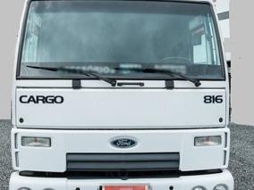 Ford Cargo 816 Bau Alumínio ( Repasse De Dívida )