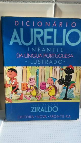Livro Dicionário Aurélio Infantil Da Língua Portuguesa