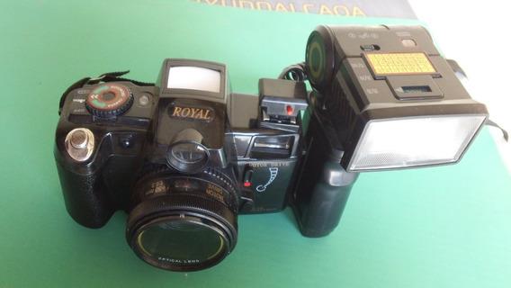 Câmera Fotográfica Antiga Royal