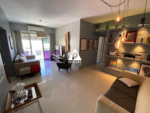 Apartamento À Venda, 3 Quartos, 2 Vagas, Cosme Velho - Rio De Janeiro/rj - 25879