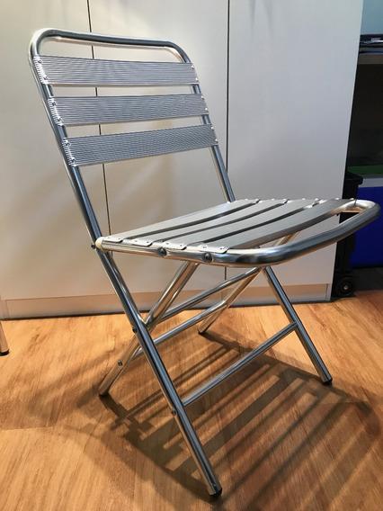 Cadeira De Alumínio Dobrável