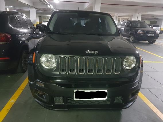 Jeep Renegade 2016, Automático , Banco De Couro, Único Dono