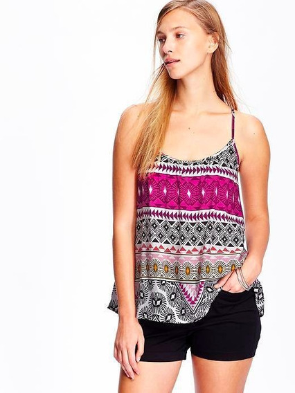 Musculosa Estampada Talle S Old Navy