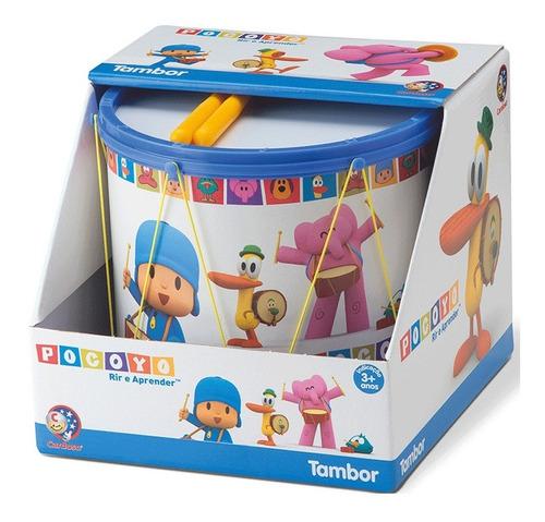 Tambor De Brinquedo Pocoyo - Música - 0263 - Turma Pocoyo