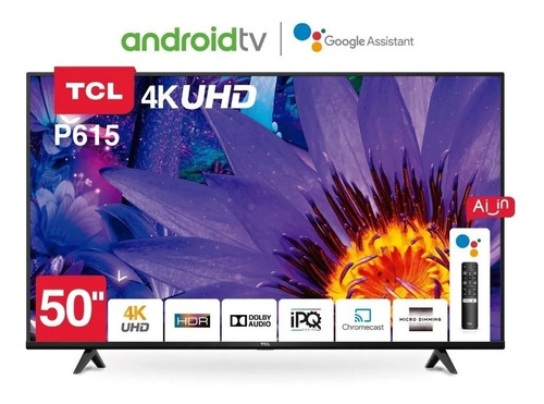 Smart Tv Android Tv Tcl 50 4k Uhd Bluethooth Google Albion
