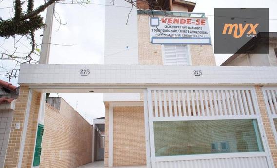 Venda Casa Triplex Nova - Excelente Localização - Oportunidade - Ca0827