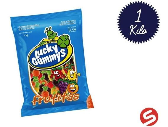 Gummy Lucky Frutas 1kg