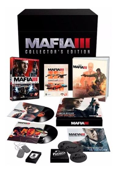 Jogo Mafia 3 Collectors Edition Original Para Playstation 4