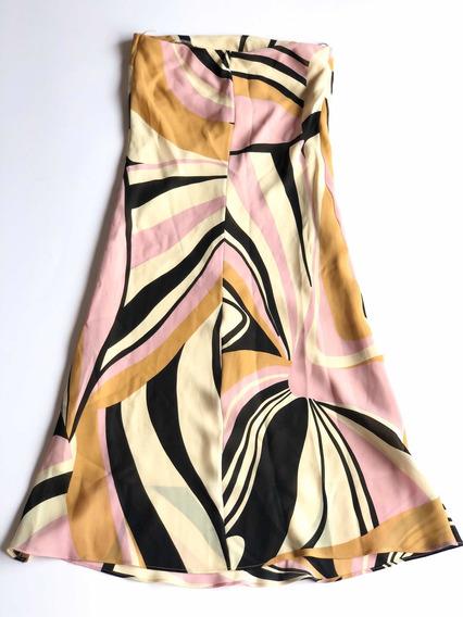 Vestido Prada Strapless Made In Italy