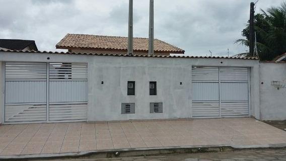 Casa Na Praia Com 2 Quartos , Em Itanhaém-sp 4423-pc