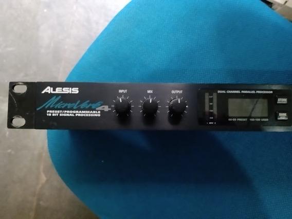 Processador De Audio Alesis Microverb4 Digital - 18 Bit