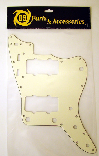 Pickguard Tricapa Jazzmaster Ds Parts Vintage Cream Ds-a87