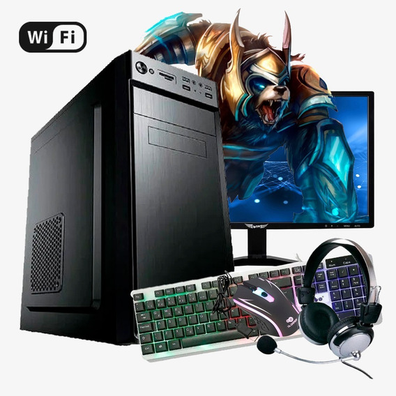 Pc Gamer Start Intel Core I3, 8gb Ram, Gtx 550ti, Hd Ssd 480