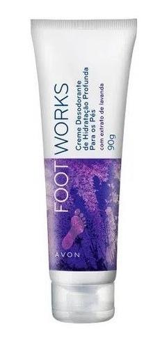 Foot Works - Creme Hidratação Profunda Para Pés - Lavanda