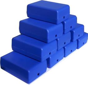 10 X Caixas Plasticas 9,3 X 6,1 X 3,5 Eletronica Arduino