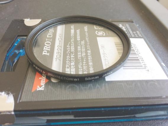 Filtro Protetor De Lente 55mm Kenko Pro1 W Protect -japonês