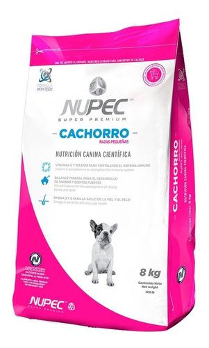 Imagen 1 de 1 de Alimento Nupec Nutrición Científica Raza Pequeña para perro cachorro de raza pequeña sabor mix en bolsa de 8kg