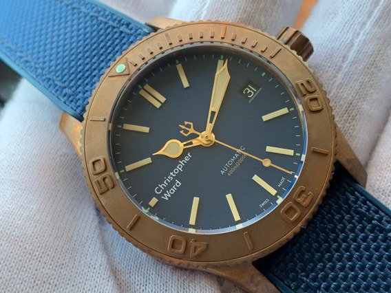 Relógio Christopher Ward C60 Trident Bronze Pro600 Automatic