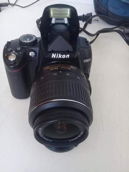 Nikon D5000 Profissional Semi Nova Com Todos Acessórios Orig