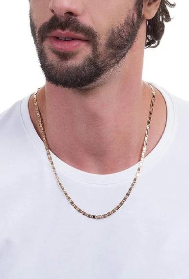 Cordão Rommanel Masculino Elo Longo Diamantado 60cm 530746 .