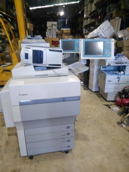 Impressora Colorida Canon Image Press C1 E Servidor Fiery Q1