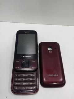 Samsung Gt-c3752-semi-novo-dois Defeito Sucata