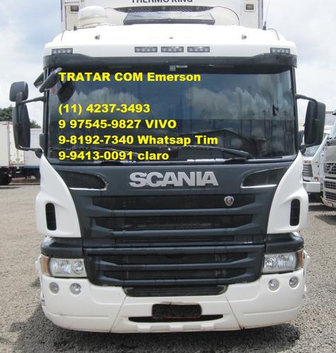 Scania P310 Baú Refrigerado